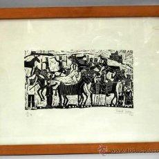 Arte: GRABADO DANIEL ZARZA 1961 19/33 II. Lote 15445769