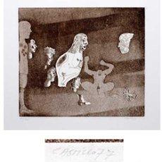 Arte: JORGE CASTILLO / COMPOSICIÓN ERÓTICA. AGUAFUERTE ORIGINAL,FIRMADO A LÁPIZ, NUMERADO.EDICIÓN 75 EJEMP. Lote 26317861