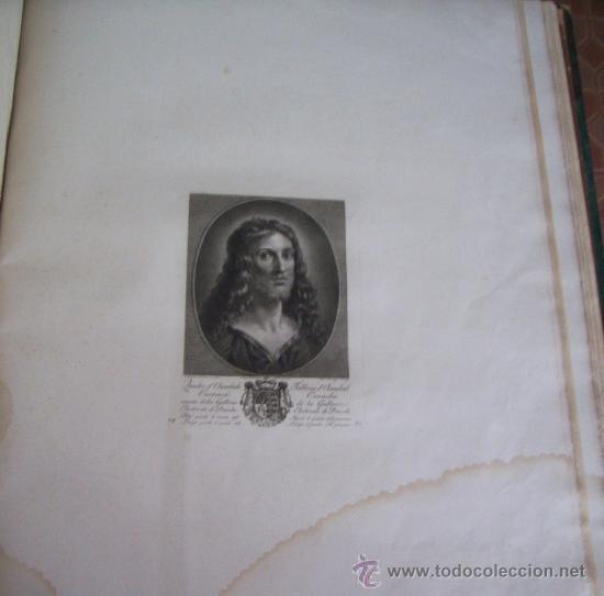 Arte: GRABADO SIGLO XVIII - C. 1795 - GALERÍA REAL DE DRESDE - LA TÊTE DU SAUVEUR - ENVÍO GRATIS - Foto 4 - 15492281