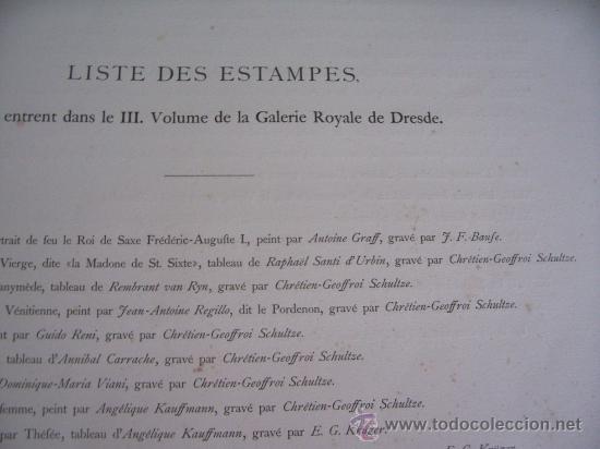 Arte: GRABADO SIGLO XVIII - C. 1795 - GALERÍA REAL DE DRESDE - LA TÊTE DU SAUVEUR - ENVÍO GRATIS - Foto 6 - 15492281