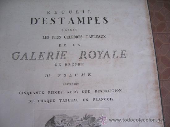 Arte: GRABADO SIGLO XVIII - C. 1795 - GALERÍA REAL DE DRESDE - LA TÊTE DU SAUVEUR - ENVÍO GRATIS - Foto 8 - 15492281