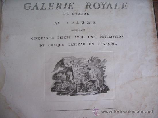 Arte: GRABADO SIGLO XVIII - C. 1795 - GALERÍA REAL DE DRESDE - LA TÊTE DU SAUVEUR - ENVÍO GRATIS - Foto 9 - 15492281