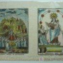 Arte: GRABADO DE NUESTRA SEÑORA DE MONTSERRAT. NTRA. SEÑORA DEL ROSER. ILUMINADO. 22 X 31 CM.. Lote 15643895