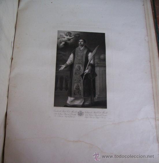 Arte: GRABADO SIGLO XVIII - C. 1795 - GAL. REAL DE DRESDE - ST. RODRÍGUEZ RECEVANT LA COURONNE DU MARTYRE - Foto 5 - 15508177