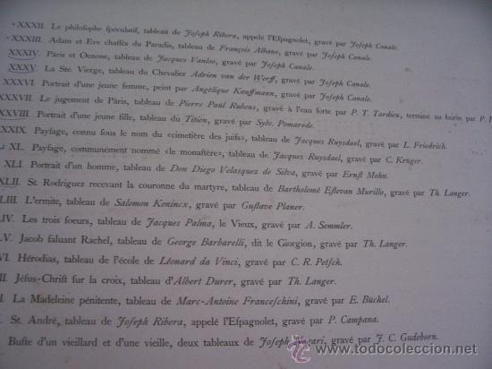 Arte: GRABADO SIGLO XVIII - C. 1795 - GAL. REAL DE DRESDE - ST. RODRÍGUEZ RECEVANT LA COURONNE DU MARTYRE - Foto 7 - 15508177