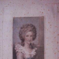 Arte: GRABADO DE MRS COSWAY POR LUIGI SCHIAVONETTI AGUAFUERTE DE 1794 . Lote 15677459