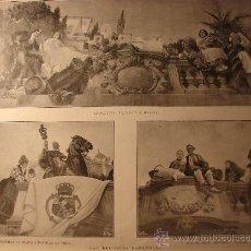 Arte: TRAJE REGIONAL DE ANDALUCIA VALENCIA MURCIA CASTILLA ARAGÓN LEÓN MARAGATOS ASTURIAS GALICIA 1897 . Lote 27425037