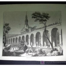 Arte: LONDON AND GREENWICH RAILWAY - ORIGINAL S. XIX -. Lote 27388181
