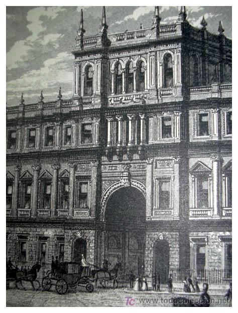 Arte: New Burlington House - ORIGINAL XIX - - Foto 2 - 27388178