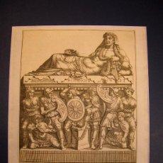Arte: ESCENA ROMANA. GRABADO. S.XVIII.. Lote 17494001