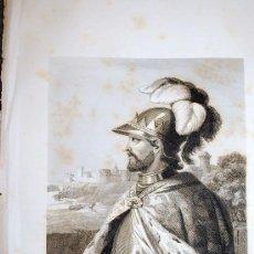 Arte: D. ENRIQUE II. REY DE CASTILLA Y LEÓN. RETRATO. GRABADO. 1852.. Lote 18289558