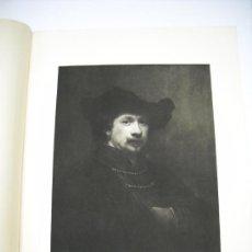 Arte: GRABADO CON RETRATO DE REMBRANDT HARMESNSZ VAN RIJN ( 1606 - 1699 ) . 38 X 50 CMS . CA. 1900. Lote 18438608
