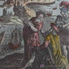Arte: GRABADO EL PLANETA MERCURIO DE MALLET, 1685. Lote 12451900