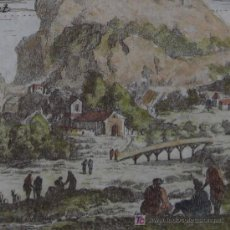 Arte: GRABADO ZONAS CLIMÁTICAS DE MALLET, 1685. Lote 12452016
