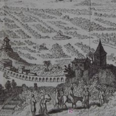 """Arte: GRABADO """"NUEVO MÉXICO"""" DE BELLIN, 1754. Lote 18562523"""
