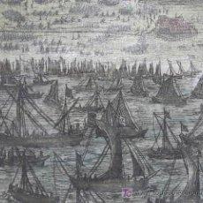 Arte: GRABADO BATALLA EN ANTWERP (BELGICA) DE BAUDARTIUS, 1616. Lote 18569917