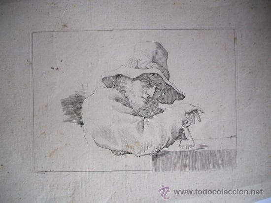 Arte: Grabado finales de siglo XVIII - GUERCINO - Foto 2 - 27110645
