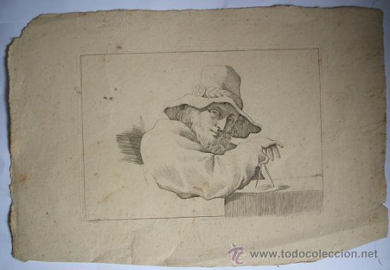 Arte: Grabado finales de siglo XVIII - GUERCINO - Foto 3 - 27110645