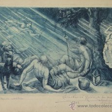 Arte: ANTIGUO GRABADO DE ENCARNACION RUBIO. Lote 24098143