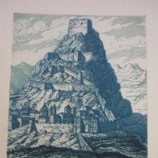 Arte: GRABADO DE MANUEL CASTRO GIL. Lote 24680061