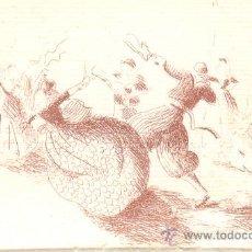Arte: DOS PEQUEÑOS DIBUJOS ESCENA BAILE DE BOLEROS BALL DE BOT MALLORCA UNO FECHA 1980 TIPO COLL BARDOLET. Lote 20300934