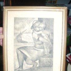 Arte: GRAVADO JAVIER VILATÓ (1921-1999). 1945. 22/49. MEDIDAS. 30 X 23 APROX.. Lote 20465399