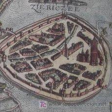 Arte: ASEDIO DE ZIERIKZEE (HOLANDA) DE BAUDARTIUS, 1616. Lote 20940284