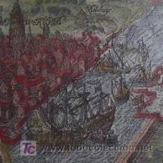 Arte: BARCOS DE GUERRA EN ANTWERP (BÉLGICA) POR BAUDARTIUS, 1616. Lote 20940406