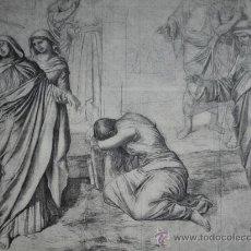 Arte: EL CALVARIO.GERMAN HERNANDEZ. Lote 20930651