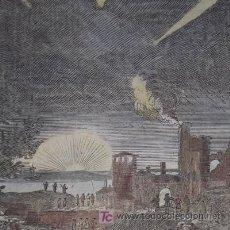 Arte: COMETAS DE MALLET, 1719. Lote 21115633