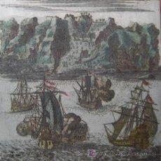 Arte: ISLA DE SANTA HELENA (ÁFRICA) DE MALLET, 1719. Lote 21145814