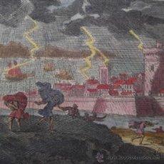 Arte: TORMENTA DE MALLET, 1683. Lote 21461068