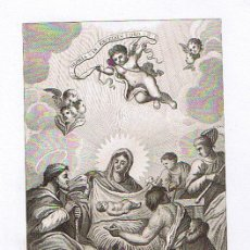Arte: GRABADO (22X16) E. BOIX. FINALES SIGLO XVIII - PRINCIPIO DEL XIX.. Lote 21519559