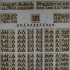 Arte: CAMPAMENTO ROMANO DE ROLLIN, 1795 . Lote 21701505