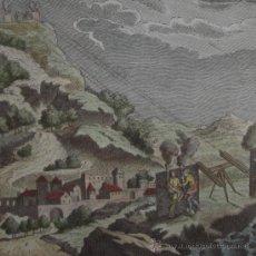 Arte: ESTRATEGIA MILITAR ROMANA UTILIZANDO SEÑALES DE FUEGO, DE ROLLIN, 1795. Lote 21701540