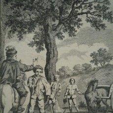 Arte: ANTIGUO GRABADO DE CALIDAD TITULADO DEATH OF WILLIAM RUFUS / LLOYD'S HISTORY OF ENGLAND.. Lote 21873966