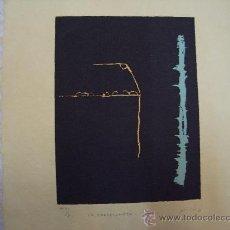 Arte: VICTOR MIRA AGUAFUERTE SERIE LA BARCELONETA. Lote 27349844