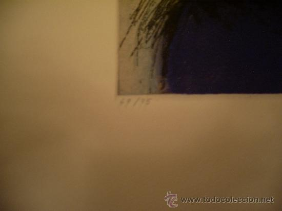 Arte: VICTOR MIRA AGUAFUERTE CRUFICIXCION - Foto 4 - 26921165