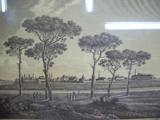 GRABADO DE ZARAGOZA ANTIGUA (Arte - Grabados - Antiguos hasta el siglo XVIII)