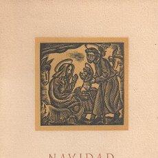 Arte: DOCE BELLOS GRABADOS DE OFICIOS / GREMIO FABRICANTES DE SABADELL. NAVIDAD 1959.PAPEL GUARRO,ENMARCAB. Lote 26873309