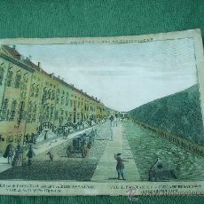 Arte: BONITO GRABADO DE SIGLO XVIII CON PERSONAJES,BUEN TAMAÑO 45CM POR 34CM. Lote 27103706