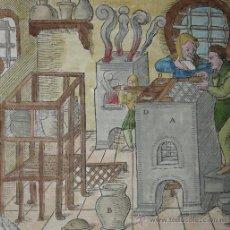 Arte: FUNDICIÓN MEDIEVAL DE AGRICOLA, 1557. Lote 23187843