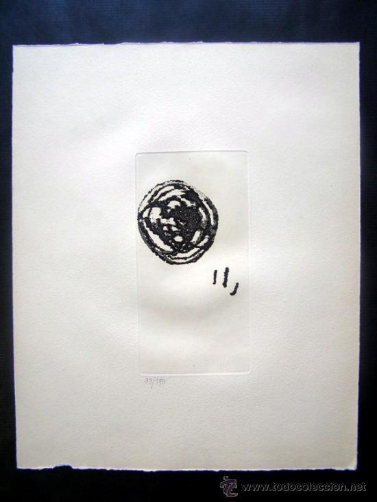 MIRO, J (1893-1983). GRABADO. EL INOCENTE. DUPIN 676. NUM. 39/170 (Arte - Grabados - Contemporáneos siglo XX)