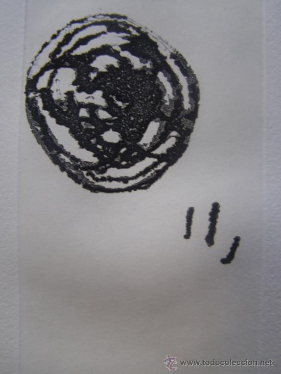Arte: MIRO, J (1893-1983). GRABADO. EL INOCENTE. DUPIN 676. NUM. 39/170 - Foto 3 - 25914340