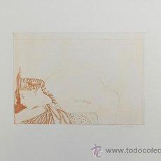 Arte: JORGE CASTILLO / DESNUDO. GRABADO FIRMADO, FECHADO Y NUMERADO A LÁPIZ. Lote 26624747