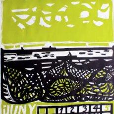 Arte: RÀFOLS CASAMADA / JUNIO 1966. LINÓLEO FIRMADO A LÁPIZ.* RARO. OPORTUNIDAD COLECCIONISTAS. Lote 26713708