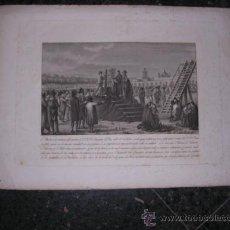 Arte: GRABADO ANTIGUO S.XIX,GUERRA DE LA INDEPENDENCIA,BARCELONA,1815,BUENAVENTURA PLANELLA LO DIB.Y INVº.. Lote 24097236