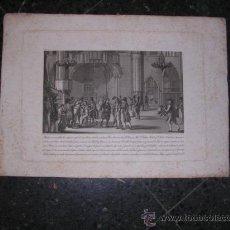Arte: GRABADO ANTIGUO S. XIX GUERRA DE LA INDEPENDENCIA BARCELONA 1815,BUENAVENTURA PLANELLA DIB.BARCELONA. Lote 24097522
