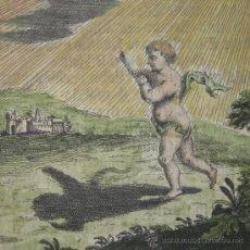 Arte: ÁNGEL PERSIGUIENDO A SU PROPIA SOMBRA, 1680. Lote 24214974