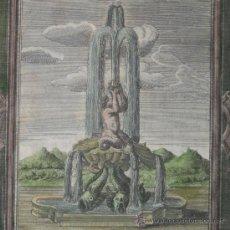 Arte: FUENTE BARROCA, 1680. Lote 24214980
